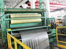 Stainless steel foil slitting machine
