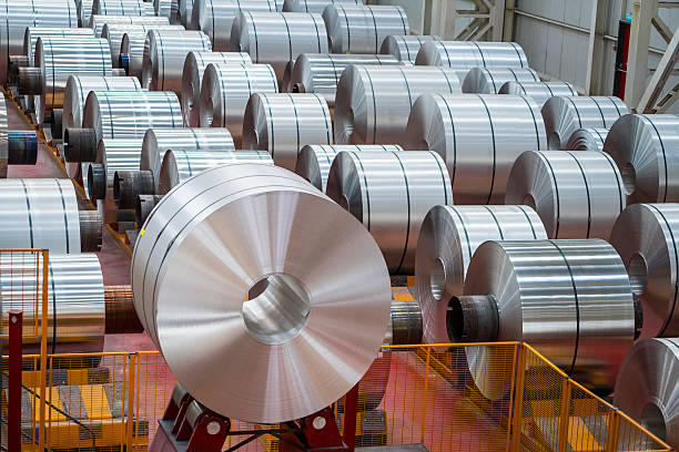 ss coil , stainless steel coil in the factory.