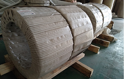stainless steel strips coil cutting package, ss coil